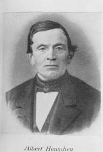 Firmengründer Küper Albert Henschen 1812 bis 1877