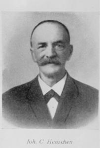 Namensgeber Küper Johann Conrad Henschen 1852 bis 1928